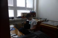 Práce ve studiu